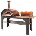 Forno a legna a cottura diretta Clementi PizzaParty