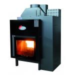 Bio termocamino legna pellet Helios 22 kw -  ht25c