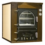 Wood oven indirect cooking Clementi Line Master recessed FINCR 60
