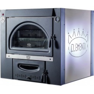 Oven with indirect cooking steel Clementi Line Super Master recessed FINCSMI 80