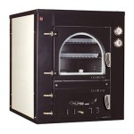 Wood oven indirect cooking Clementi Line Master recessed FINC 100