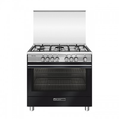 GlemGas kitchen Lo Specialist SB965MBK Electric multifunction oven