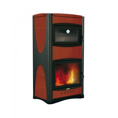 Termostufa a legna Laminox Idro 34 kW  Idropiù 34 con forno