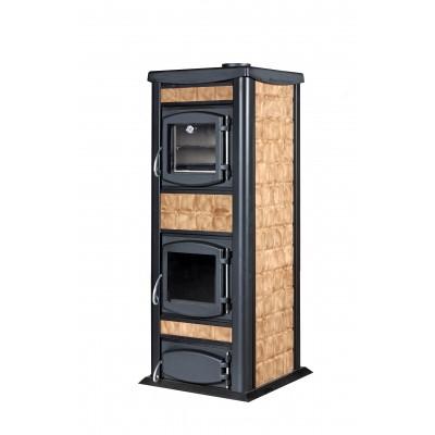 Wood-burning heater Laminox Idro 30 kW  Italia 30 with oven