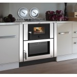Wood cooker for Nordica Verona insertion
