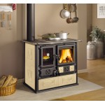Wood burning cookers Nordica Rosa Sinistra Reverse