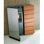 Pellet stove saving Palazzetti ECOFIRE DENISE 7.4 kW CANALIZED