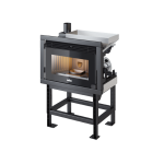 Pellet fireplace Ravelli 10.0 kW Insert R1000 Box