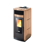 Pellet stoves for central heating Ravelli 12.0 kW Holly Flow