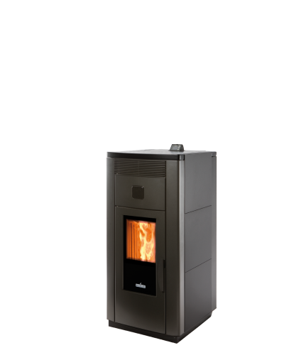 Pellet stove for central heating  Ravelli 21 kW HRV 170 Steel Hydro
