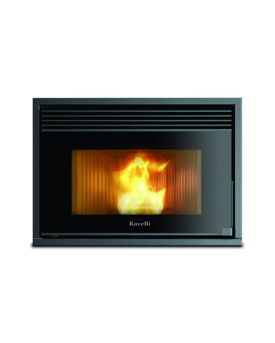 Pellet stoves for central heating Ravelli 10.0 kW Insert  RCV1000 Box