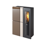 Pellet stove for central heating Ravelli 11.0 kW Snella Flow