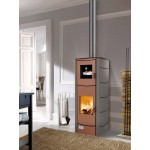 Wood thermostoves Magikal Malika with oven 39kw