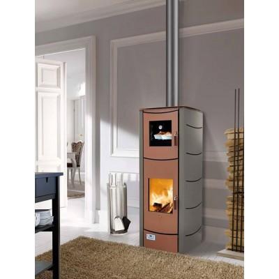 Wood thermostoves Magikal Malika with oven 39kw