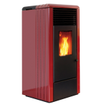 Pellet stoves for central heating Ravelli 8.0 kW RC 70 Flow