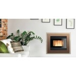 Pellet fireplace Ravelli 10.1 kW Insert RCV 1000 L