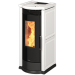Pellet stoves for central heating Ravelli 12 kW Vera C Flow