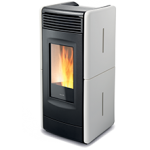 Pellet stoves for central heating Ravelli VITTORIA C