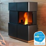Ventilated Pellet stove Ravelli CHIARA S Air-Convection