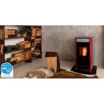 Pellet thermostoves Ravelli HRV 120 PLUS Hydro