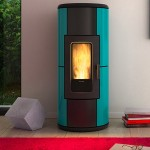 Ventilated Pellet stove Ravelli R-EVOLUTION 11 V Air-Convection