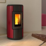 Ventilated Pellet stove Ravelli R-EVOLUTION 7 V Air-Convection