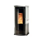 Pellet stoves for central heating Ravelli 12 kW Vera Flow