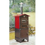 Wood stove Tranquilli Esterno Baby KBE-5043