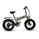"""EMG E-BIKE BOMBER BLACK/GREEN ruote 20"""""""