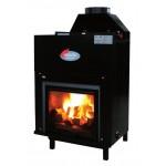 Fireplace Wood Helios 35 kw ecoflame - ecoflame 35 whit ACS