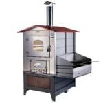 Forno a legna Gemignani Esterno G100 con barbecue