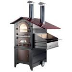 Forno a legna Gemignani Esterno G90 con barbecue