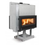 Wood burning fireplaces Nordica Focolare 100 Bifacciale 11kw