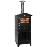 Wood stove Rosso Fuoco Esterno Minutino