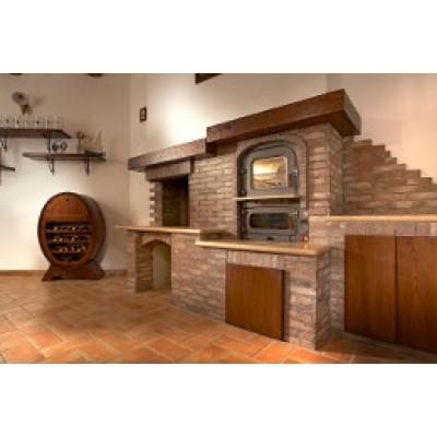 Wood stove  Tranquilli da Incasso Marte KI-6043 / 8043