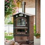 Wood stove Tranquilli Esterno Venere senza pareti estraibili VKE-6048 / 8048