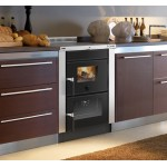 Cucina a legna da inserimento Nordica Vicenza EVO